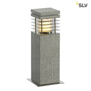 ARROCK GRANITE 40 Stehleuchte Granit, salt & pepper, E27, max. 15W