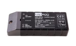 Kapego LED-Netzgerät 18W, 350mA