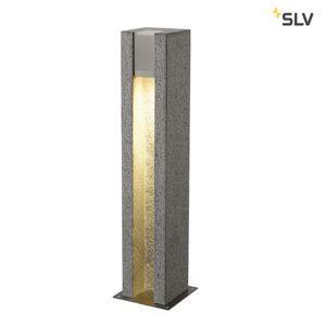 Außergewöhnliche LED Aussen Stehleuchte ARROCK SLOT GU10 aus Granit
