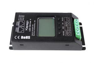 Kapego LED Controller DMX512 LCD Dimmer 4, spannungskonstant, 12-24V DC, 480 Watt