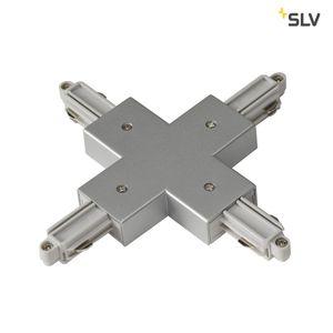 X-Verbinder für 1-Phasen HV-Stromschiene, Aufbauversion silbergrau