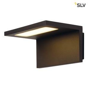 Außen LED Wandleuchte ANGOLUX WALL, anthrazit, 36 SMD LED, 3000K