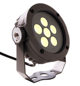Außen LED Boden-/Wand-/Decken Strahler Power Spot II WW, anthrazit, LED warmweiß, 24V, 11W