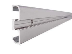 Reprofil AM-02-10 Sockel-Profil für 10 - 11,3 mm LED Stripes, Silber-matt, eloxiert, 3000 mm