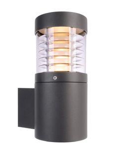 Außen LED Wandleuchte Ortis, LED warmweiß 15W, dunkelgrau