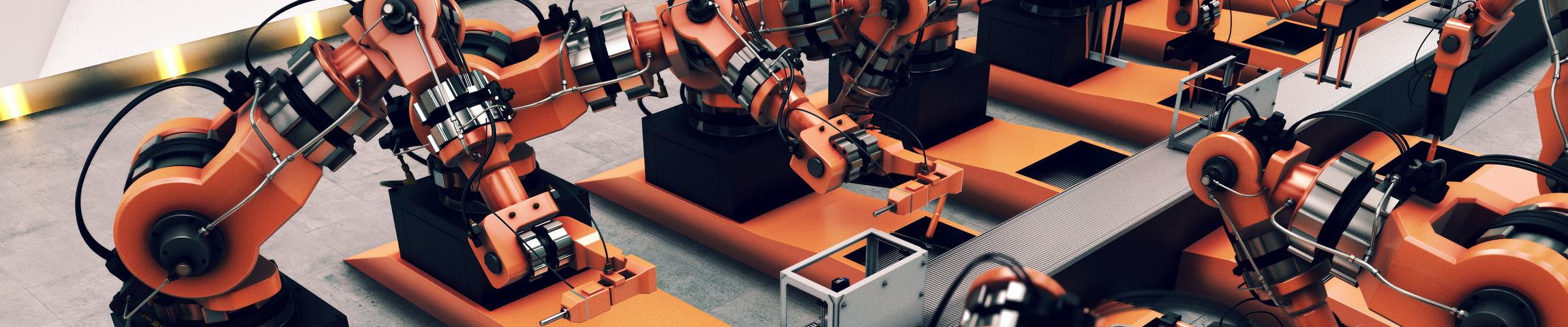 Maschinen und Roboter!
