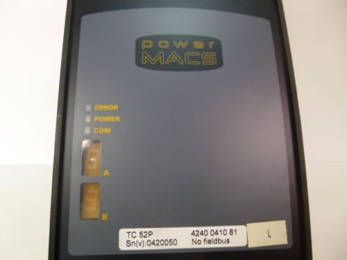 Atlas Copco TC52 TC 52P Power Macs Frequenzumrichter 20A – Bild 1