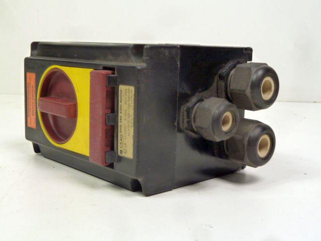 CEAG GHG 262 2301 R0002 Safety Switch Ex-Sicherheitsschalter 20 A, NOT-AUS – Bild 1