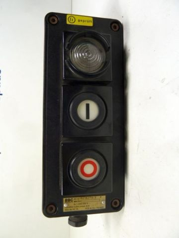 BBC EX 4215 / 15 / 714-2 Explosionsgeschütztes Befehlsgerät Anzeigegerät – Bild 3