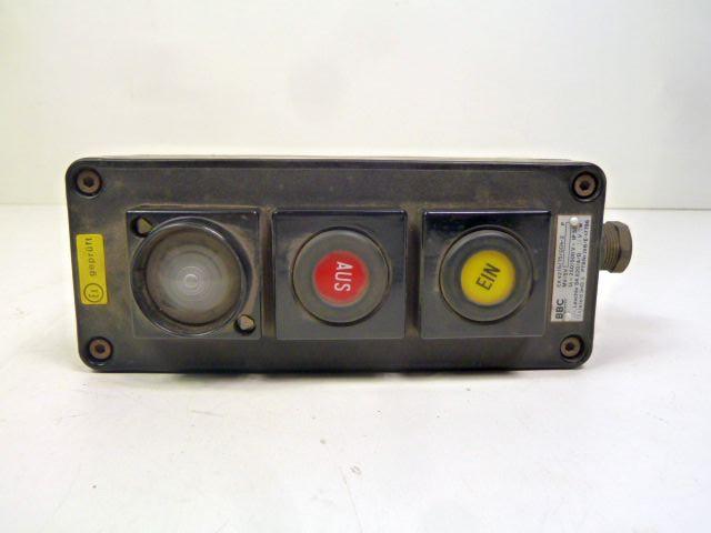 BBC EX 4215 / 15 / 004-2 Explosionsgeschütztes Befehlsgerät Anzeigegerät