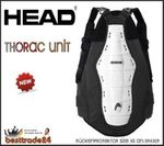 Head THORAC UNIT Double Powerbelt Body Armour Rückenprotektor 394309  GR.XS Neu 001