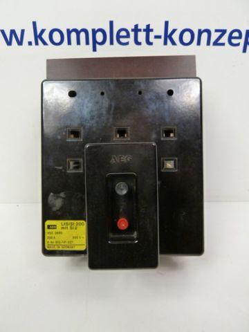 AEG LtSiSt 200 mit Si ü Sicherungslasttrenner Leistungsschalter – Bild 3