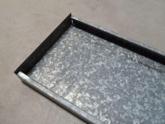 Verzinkte Paneelböden Stahlpaneel Regalboden Schwerlastregal universal 100x29cm – Bild 10
