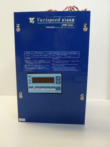 Yaskawa Variospeed 616 GII CIMR-HO.4G2 Frequenzumrichter 1.4 kVA