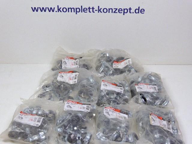 """25 x Stück Hilti 286408 Wohnbauschelle Rohrschelle MP-HI 38-45 1 1/4"""" M8/M10 *LP 39€ – Bild 1"""