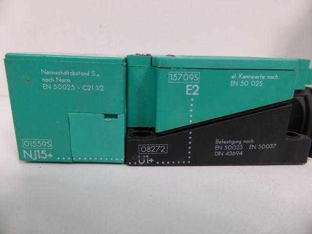 Pepperl + Fuchs 08272 NJ15 15709S Induktiver Sensor – Bild 3