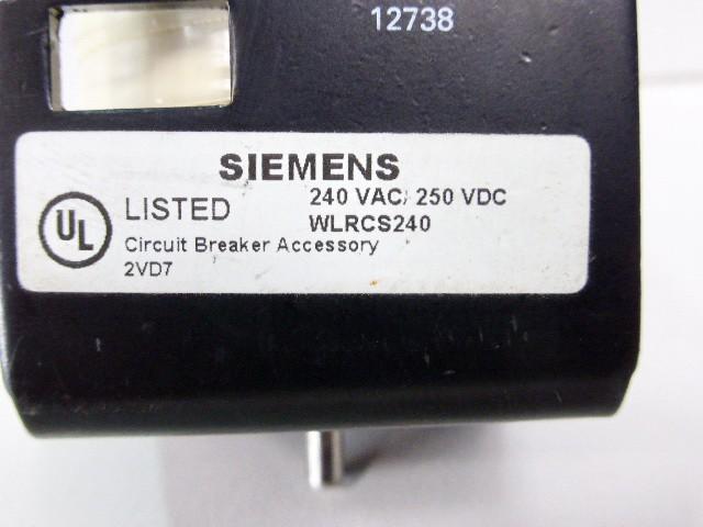 Siemens 3WL9111-0AD14-0AA0 Leistungsschalter WLRCS240 – Bild 2