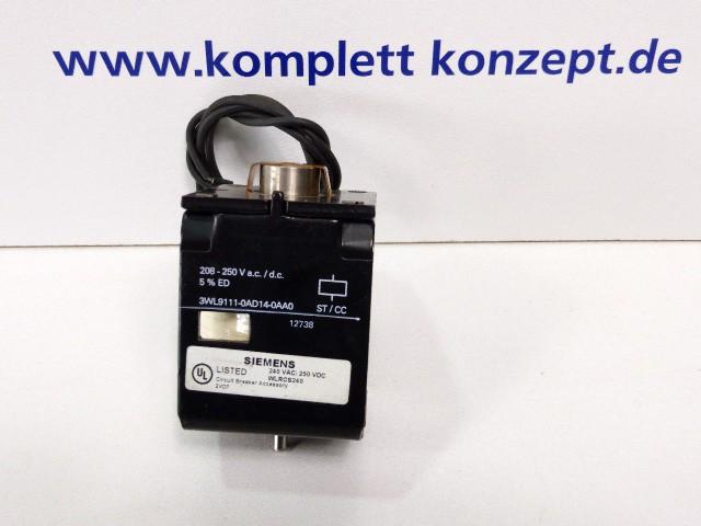 Siemens 3WL9111-0AD14-0AA0 Leistungsschalter WLRCS240 – Bild 1