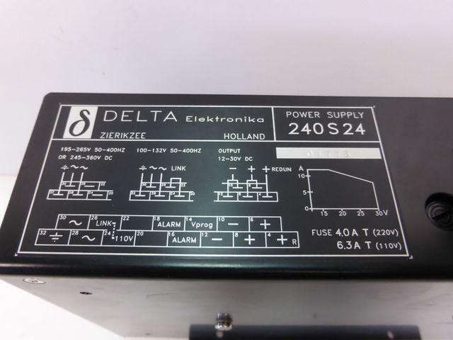 Delta Elektronika 240 S 24 Netzteil Stromversorgung Power Supply – Bild 2