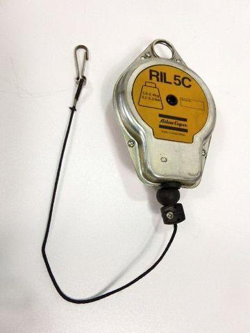 Atlas Copco RIL 5C Gewichtsausgleicher Balancer Federzug 1,4 - 2,4 Kg RIL5C – Bild 1