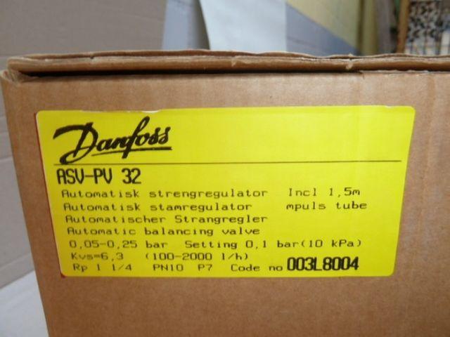 Danfoss Strangdifferenzdruckregler ASV-PV 32 DN32 003L8004 neu – Bild 5