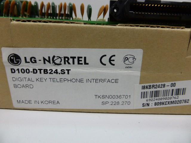 LG D100-DTB24 D100-DTB24.ST Digital Key Telephone Interface Board Telefonanlage – Bild 2