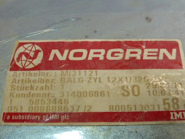 "Norgren M/31121 Balgzylinder Faltenbalg Liftbalg 12"" 100mm G 1/2 – Bild 4"