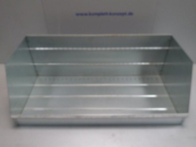 Metallschütte für Regalsystem 118 x 43,5 x 54 cm Verkaufsschütte Warenträger – Bild 1