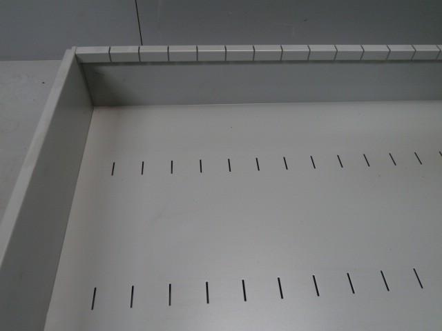 Neu Tegometall Metallschütte 126x56,5x16,5cm Lagerkiste Metallkiste Verkaufsschütte  – Bild 4