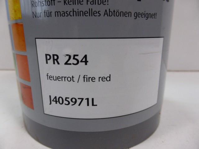 McTint Colorant Farbe Farbmischpaste PR 254 / J405971L Abtönfarbe feuerrot 1 Lit – Bild 3