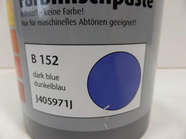 McTint Colorant Farbe Farbmischpaste B 152 / J405971J Abtönfarbe dunkelblau 1Lit – Bild 3