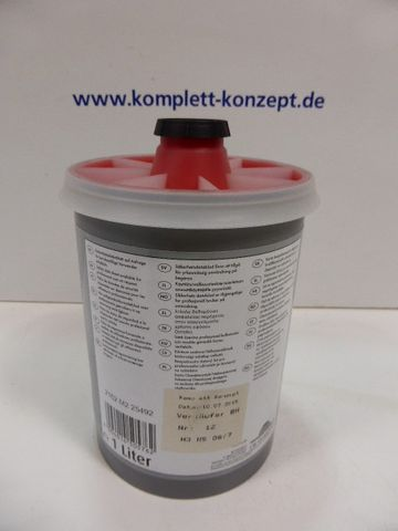 McTint Colorant Farbe Farbmischpaste R 112 / J405971D Abtönfarbe rot 1 Liter – Bild 2