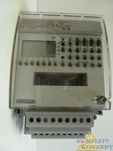 Grässlin TASU/4 digi 322 JF IR Zeitschaltuhr Schaltuhr Uhr