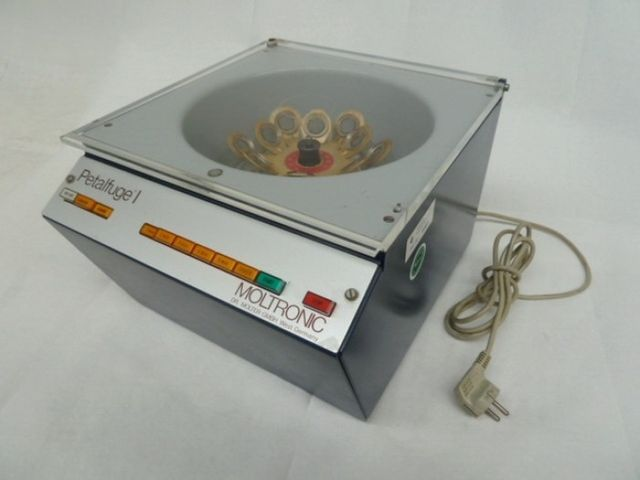 Moltronic Petalfuge I Zentrifuge Laborzentrifuge Klein-Zentrifuge – Bild 1