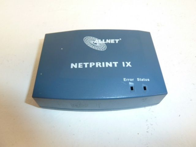 Allnet ALL0751 NetPrint IX Print Server Printserver – Bild 1
