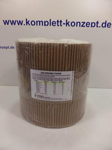 Cotronics 300-20-2 Ceramic Paper Keramikpapier 3000ºF / 1760ºC  – Bild 1