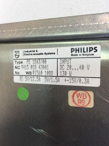 Bosch Philips PE 1843/00 PS 75 Power Supply 047181-202410 Stromversorgungsmodul – Bild 5