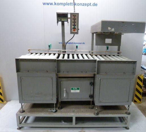 ICML AD-4328 Waage mit Rollenbahn und Plattform – Bild 1