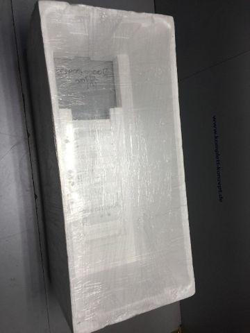 Badewannen Träger Styropor Wannenträger Sanitop Barca 1500x700 mm H:570mm – Bild 2