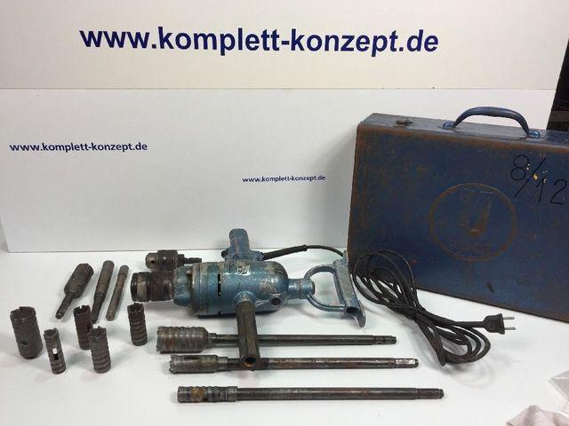 Upat 75119 Bohrmaschine 750W Kernbohrmaschine Kernbohre Kernbohrgerät+Bohrkronen