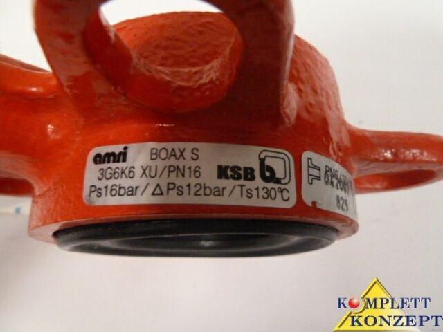 KSB amri BOAX-S ACS 02ACCNY 005 Klappe Absperrventil Abstellhahn Drosselklappe – Bild 6
