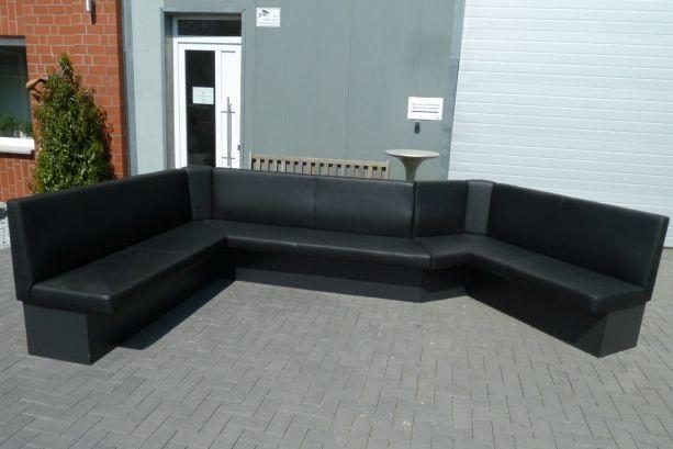Sitzbank Gastrobank Luxus Wohnlandschaft XXL U-Form Sofa Couch Ecksofa – Bild 1