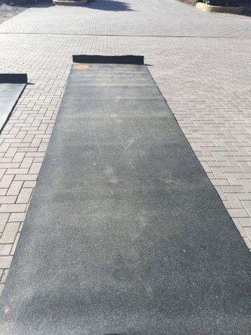 Bodenschutzmatte Unterlage Matte für Fitnessgeräte Bodenmatte 5,3 x 1,5m ca. 8m2 – Bild 1