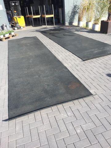 Bodenschutzmatte Unterlage Matte für Fitnessgeräte Bodenmatte 5,3 x 1,5m ca. 8m2 – Bild 5