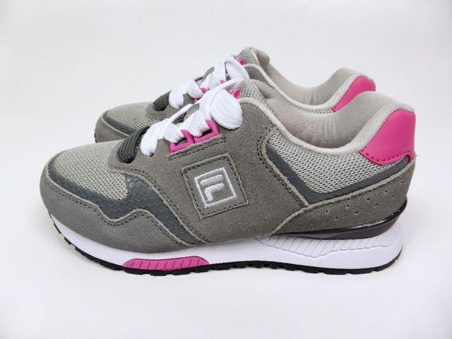 FILA Porter low wmn JR Leder Sneaker Schuhe Turnschuh Grey Pink - EU 31 – Bild 4