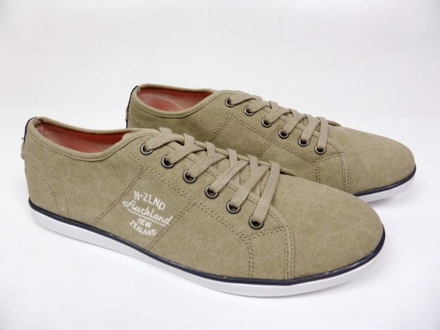 NZA New Zealand Tupuna Low Men Canvas Schuhe Leinenschuh Sneaker EU - 41
