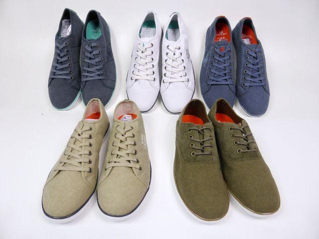 NZA New Zealand Tupuna Low Men Schuhe Canvas Leinenschuh Sneaker Blue EU - 41 – Bild 6