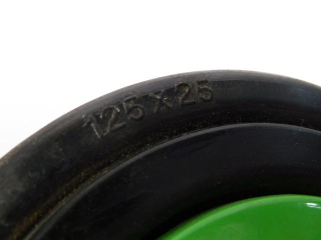 Bosch Rexroth Rolle 3 842 505 352 Rad 3842505352 Lenkrolle125x25mm  – Bild 5