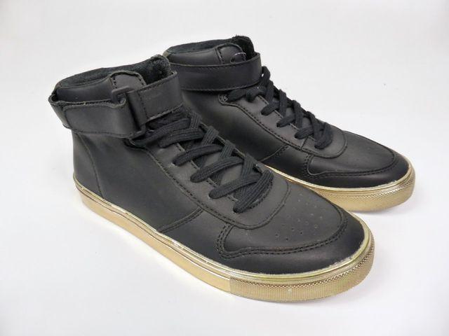 Pantofola d'Oro Dora MID Sneaker Halbschuh Schuhe Turnschuh Leder Schwarz EU 37 – Bild 1