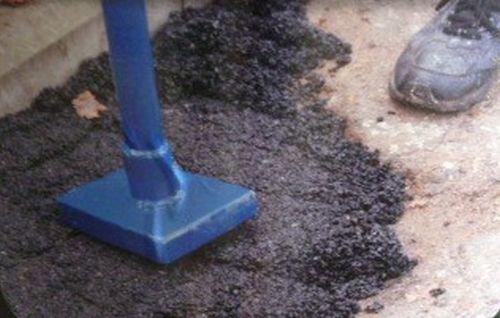 Rust-Oleum Reparaturasphalt Asphalt ReparaturAsphaltgemisch 25kg – Bild 1